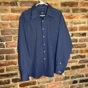 ♦️Covington Button Down Dress Shirt Size Large